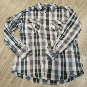 Other - Plaid Button Down Shirt